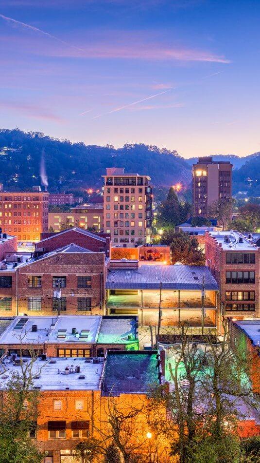 Asheville NC buildings